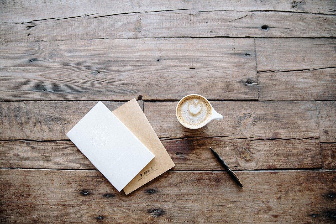 board, desk, pen